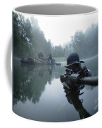 Special Operations Forces Combat Diver Coffee Mug by Tom Weber