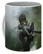 Special Operations Forces Soldier Coffee Mug by Tom Weber