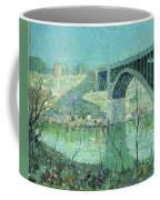 Spring Night Harlem River Coffee Mug