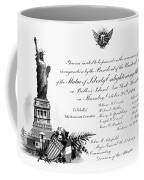 Statue Of Liberty, 1886 Coffee Mug
