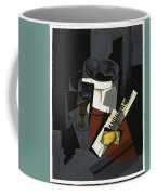 Still Life With Newspaper  Coffee Mug