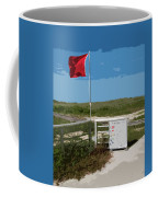 Storm Warning On The Atlantic Ocean In Florida Coffee Mug