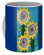 3 Sunflowers Coffee Mug