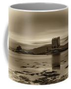 Sunset Over Castle Stalker,  Scotland, United Kingdom Coffee Mug