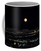 Super Moon In Las Vegas Coffee Mug