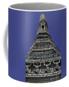 Temple Detail In Bangkok Thialand Coffee Mug