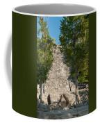 The Church At Grupo Coba At The Coba Ruins  Coffee Mug