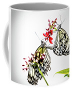 The Extraordinary Rice Paper Butterfly A Series Coffee Mug