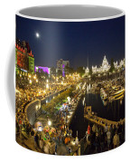 The Inner Harbor On A Busy Summer Coffee Mug by Taylor S. Kennedy