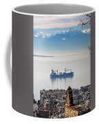 Thessaloniki With View Of Olympus Coffee Mug