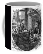 Thomas Nast: Christmas Coffee Mug by Granger