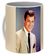 Tony Curtis Vintage Hollywood Actor Coffee Mug