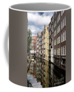 Traditional Canal Houses In Amsterdam. Netherlands. Europe Coffee Mug
