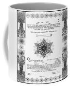 tree of life ketubah-Reformed and Interfaith version Coffee Mug