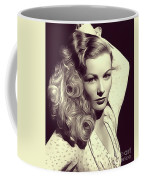 Veronica Lake, Vintage Actress Coffee Mug