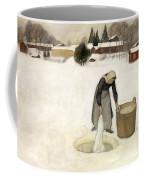 Washing On The Ice Coffee Mug