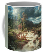 Waterfall In Smaland Coffee Mug