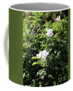 White Flowers Coffee Mug