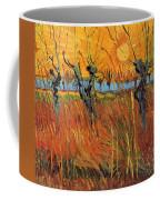 Willows At Sunset Coffee Mug