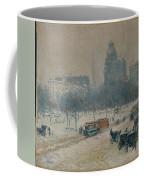 Winter In Union Square Coffee Mug