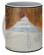 Winter On Macomb Orchard Trail Coffee Mug by LeeAnn McLaneGoetz McLaneGoetzStudioLLCcom