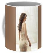Woman In Vintage Negligee Coffee Mug