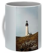 Yaquina Head Lighthouse - Toned By Texture Coffee Mug
