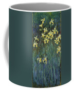 Yellow Irises Coffee Mug