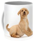 Yellow Labrador Retriever Puppy Coffee Mug