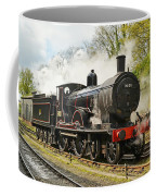 Steam Train At Rest. Coffee Mug