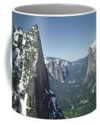 306754 Yosemite Valley From Union Point  Coffee Mug