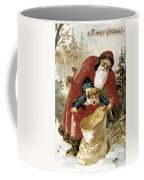 American Christmas Card Coffee Mug by Granger
