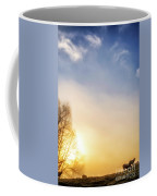Misty Mountain Sunrise Coffee Mug