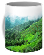 Mountain Scenery In Mist Coffee Mug