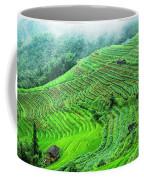 Mountain Scenery In The Mist Coffee Mug