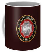 31st Degree - Inspector Inquisitor Jewel On Black Leather Coffee Mug