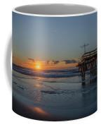 32nd Street Pier Avalon Nj - Sunrise Coffee Mug