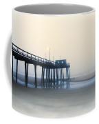 32nd Street Pier In The Fog Coffee Mug