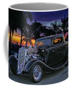 33 Ford On The Mexico Beach Coffee Mug