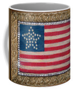 33 Star American Flag. Painting Of Antique Design Coffee Mug