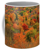North Carolina Fall Colors Coffee Mug