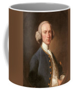 Portrait Of George Hill Sergeant At Law Henry Pickering Coffee Mug