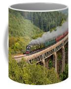 34067 Tangmere Crossing St Pinnock Viaduct. Coffee Mug