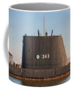343 Uss Clamagore Diesel Coffee Mug