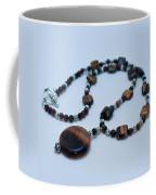 3516 Tiger Eye Necklace  Coffee Mug