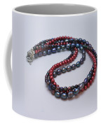 3540 Triple Strand Freshwater Pearl Necklace Coffee Mug