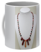 3541 Rhodonite And Jasper Necklace Coffee Mug