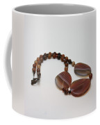 3543 Coffee Vein Agate Necklace Coffee Mug
