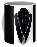 3547 Purple Veined Agate Set Coffee Mug