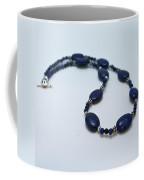 3553 Lapis Lazuli Necklace And Earrings Set Coffee Mug
